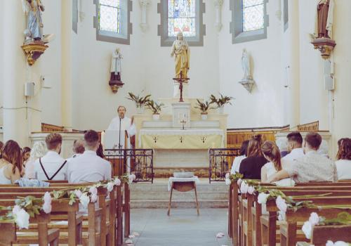 passage église baptême