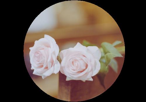 fleur pour baptême
